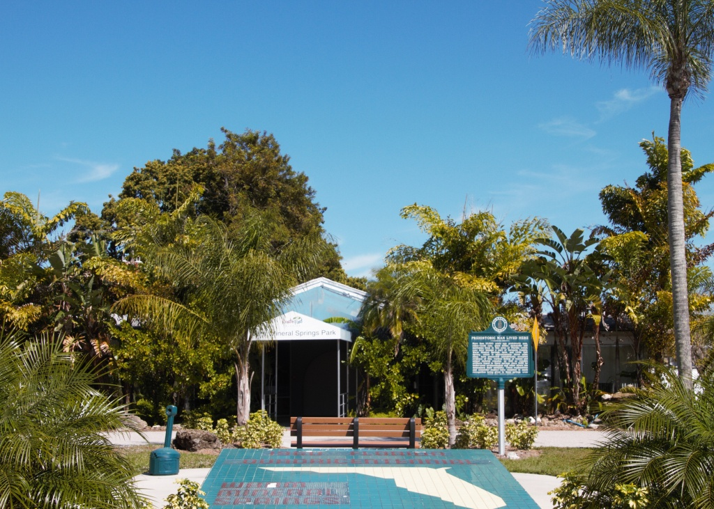 Warm Mineral Springs (Spring) - Wikipedia - Warm Mineral Springs Florida Map