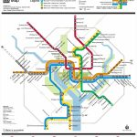 Washington, D.c. Metro Map   Printable Metro Map Of Washington Dc