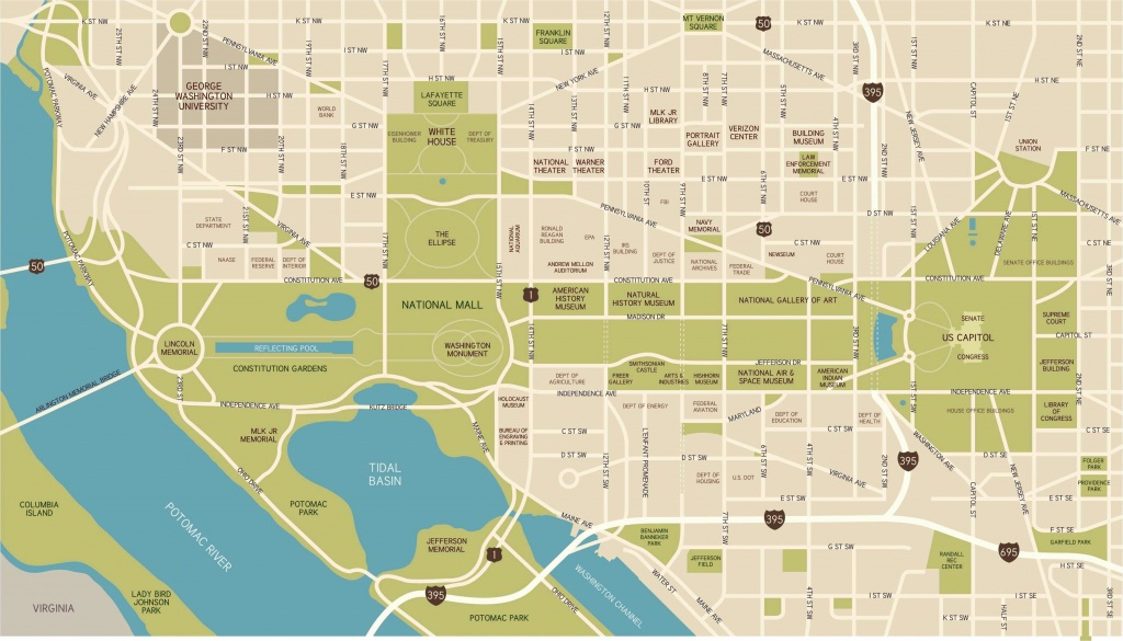 Washington, D.c. National Mall Maps, Directions, And Information - Printable Map Of The National Mall Washington Dc