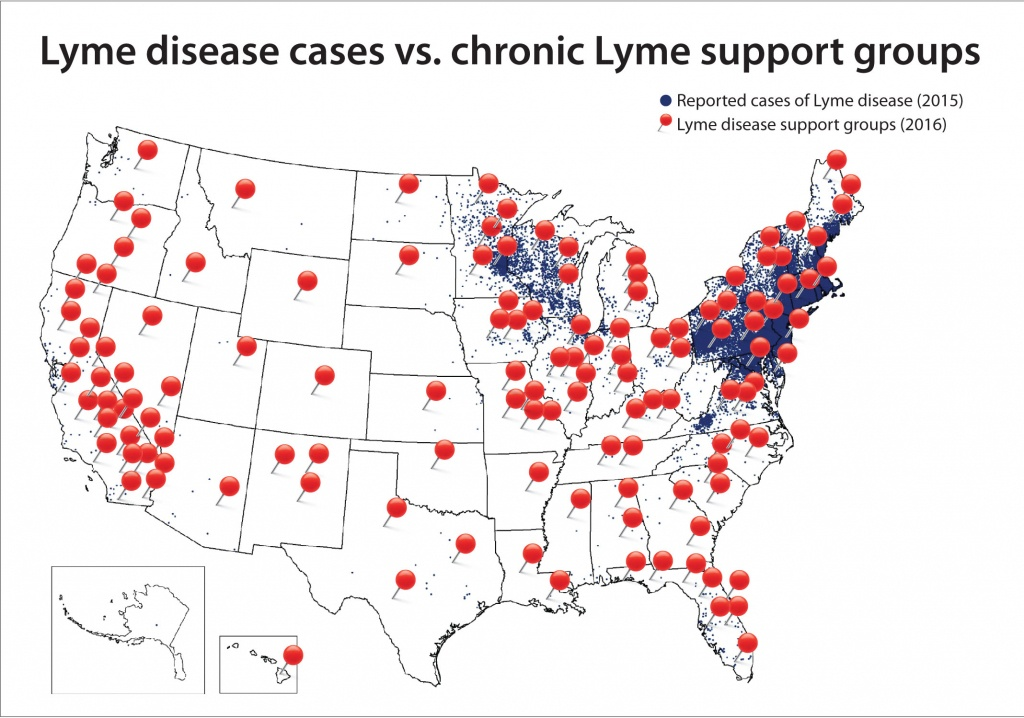 Washington: Lyme Cases Almost Non-Existent And Greatly Outnumbered - Lyme Disease In Florida Map