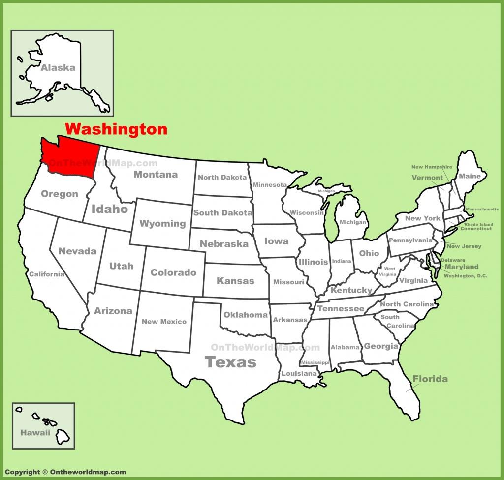 Washington State Maps | Usa | Maps Of Washington (Wa) - Washington State Counties Map Printable