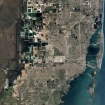 Watch A Google Maps Time Lapse Of Miami's Growth Over 32 Years   Google Maps Miami Florida