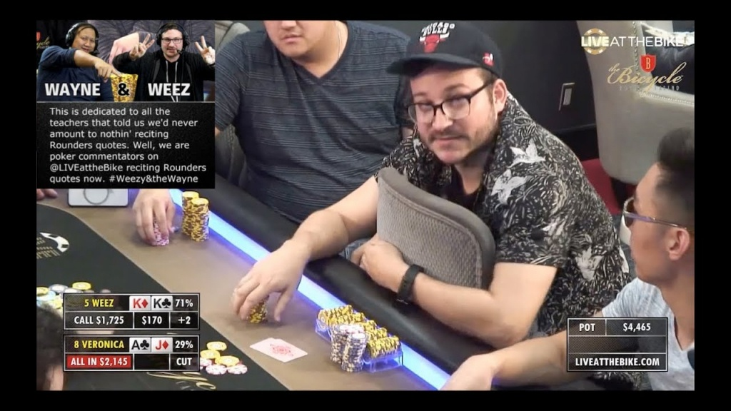 Watch: Nearly Felted Poker Player Turns $50 Into Almost $10,000 - California Poker Rooms Map
