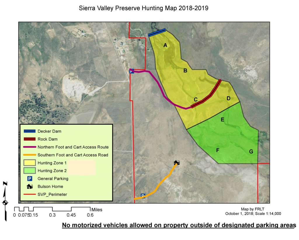 Waterfowl Hunting--Svp   Feather River - California Lead Free Hunting Map