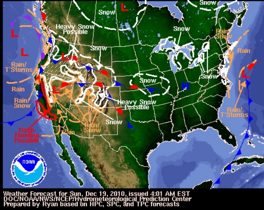 Weather Map For Los Angeles California – Map Of Usa District - Doppler Map California