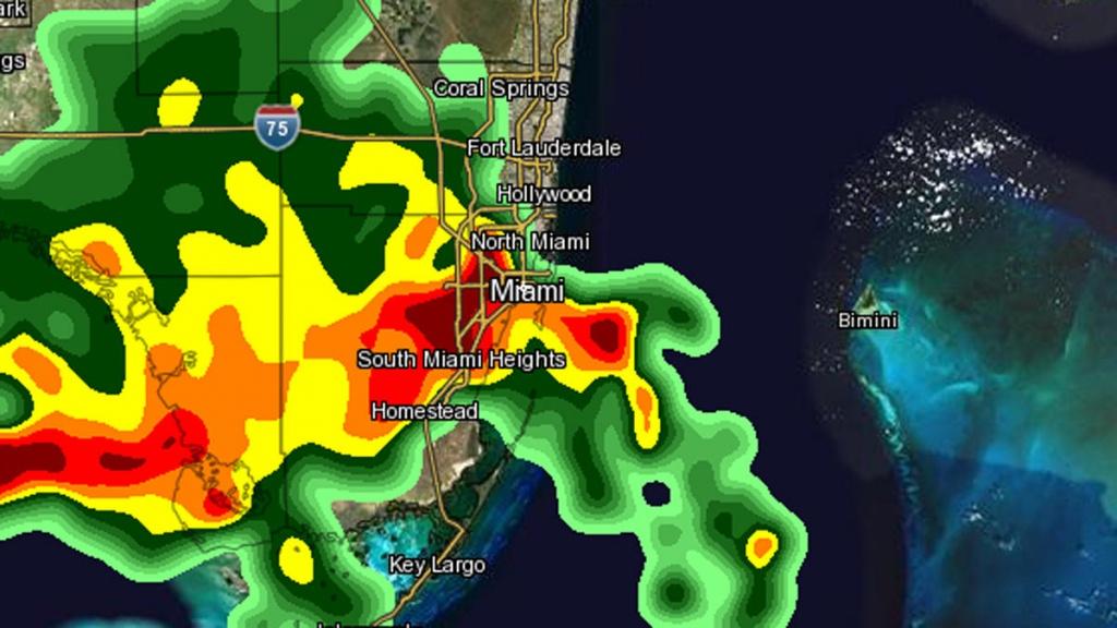 Weather Map Miami | Dehazelmuis - Miami Florida Radar Map