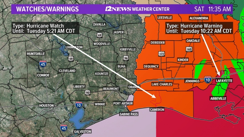 Weather Maps On 12News In Southeast Texas - Texas Weather Map