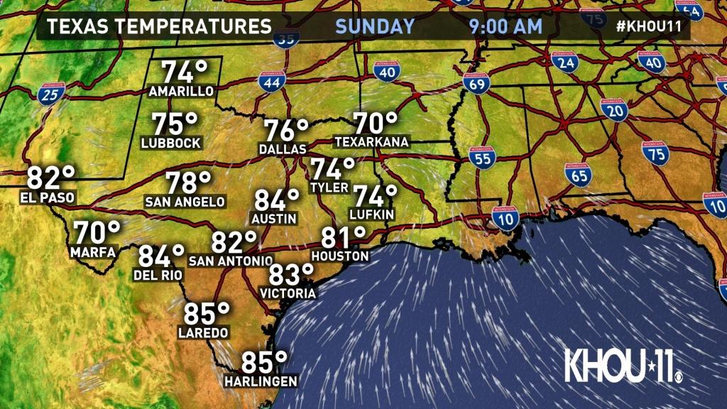 Weather Maps On Khou In Houston - Radar Map For Houston Texas