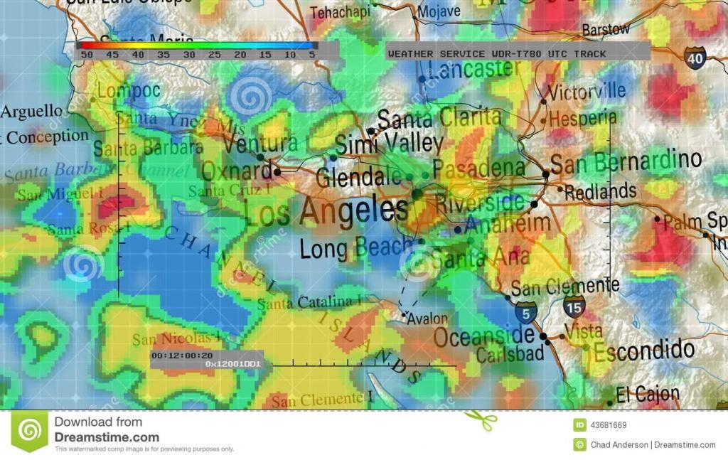 Weather Radar Digital Satellite Map Stock Video - Video Of Hurricane - Doppler Map California