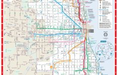 Web Based System Map   Cta   Printable Map Of Downtown Chicago Streets