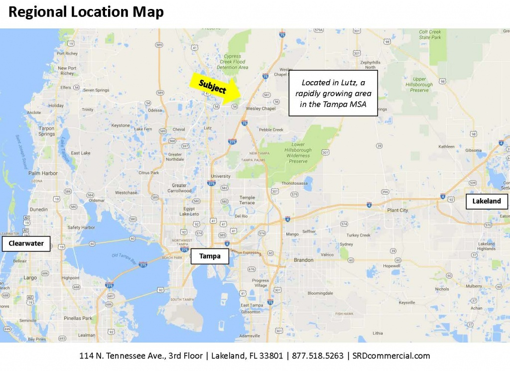 Wesley Chapel Blvd. Mixed-Use In Lutz, Florida | Saunders Ralston - Lutz Florida Map