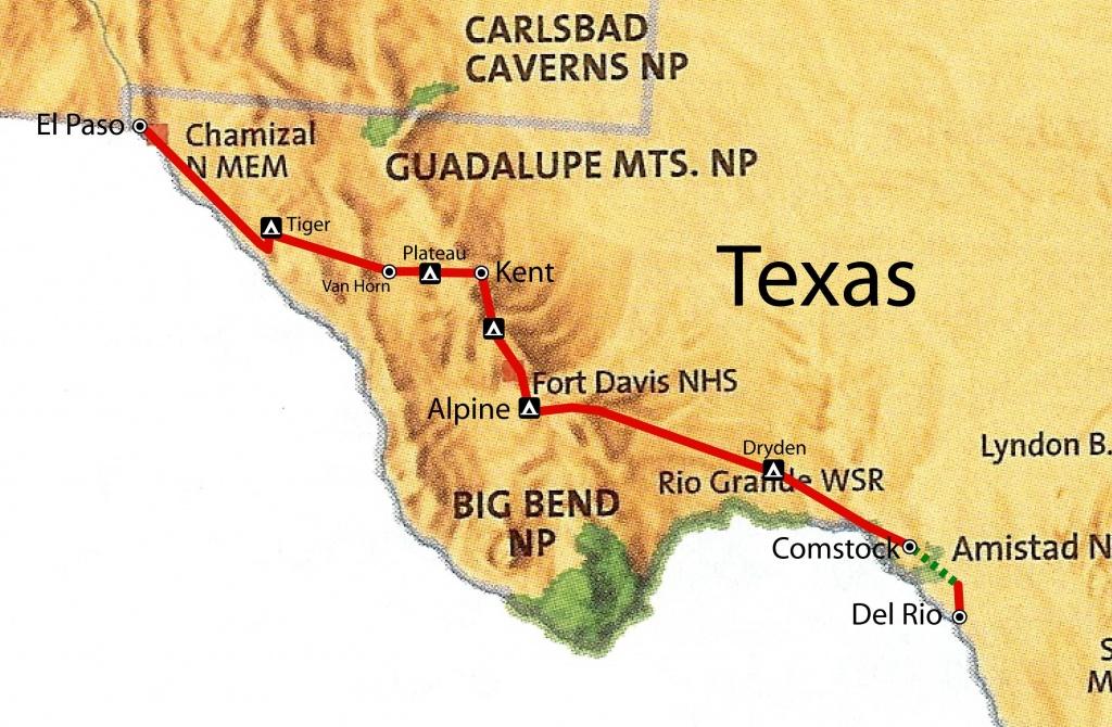 West Texas Map | West Texas | Texas, Texas Vacations, West Texas - Alpine Texas Map