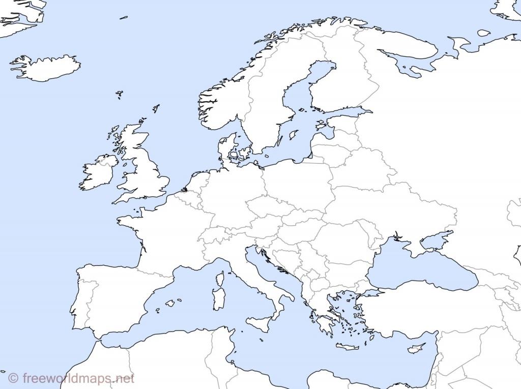 Western Europe Map Blank Printable Valid Political World High - Blank Europe Map Quiz Printable