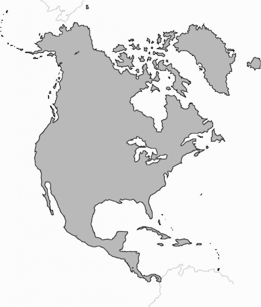 Western Hemisphere Maps Printable Guvecurid Outline Map Of North - Hemisphere Maps Printable