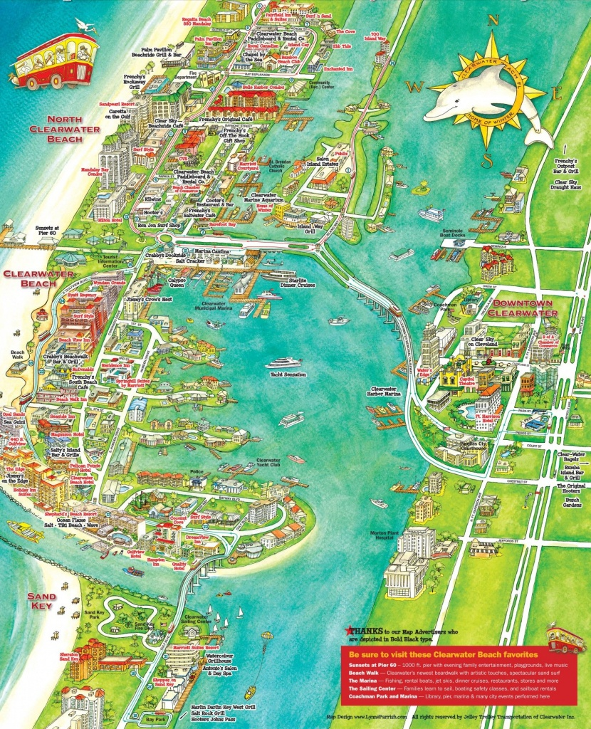 What To Do In Clearwater, Florida | Florida | Clearwater Beach - Clearwater Beach Map Florida
