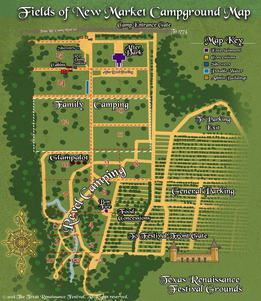 What You Need To Know About The 2018 Texas Renaissance Festival - Texas Renaissance Festival Map
