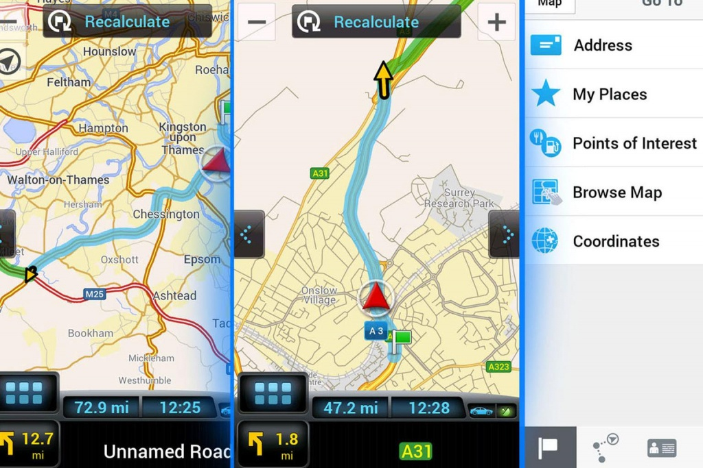 What's The Best Free Sat-Nav App For Smartphones? | What Car? - Sat Nav With Florida Maps