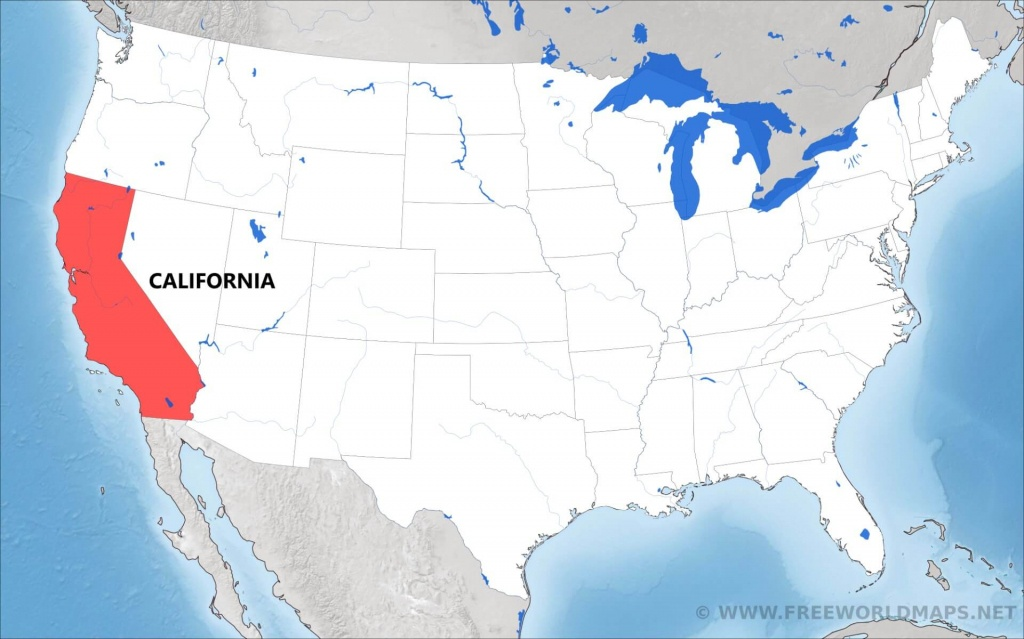 Where Is California Located On The Map? - Where Can I Buy A Map Of California