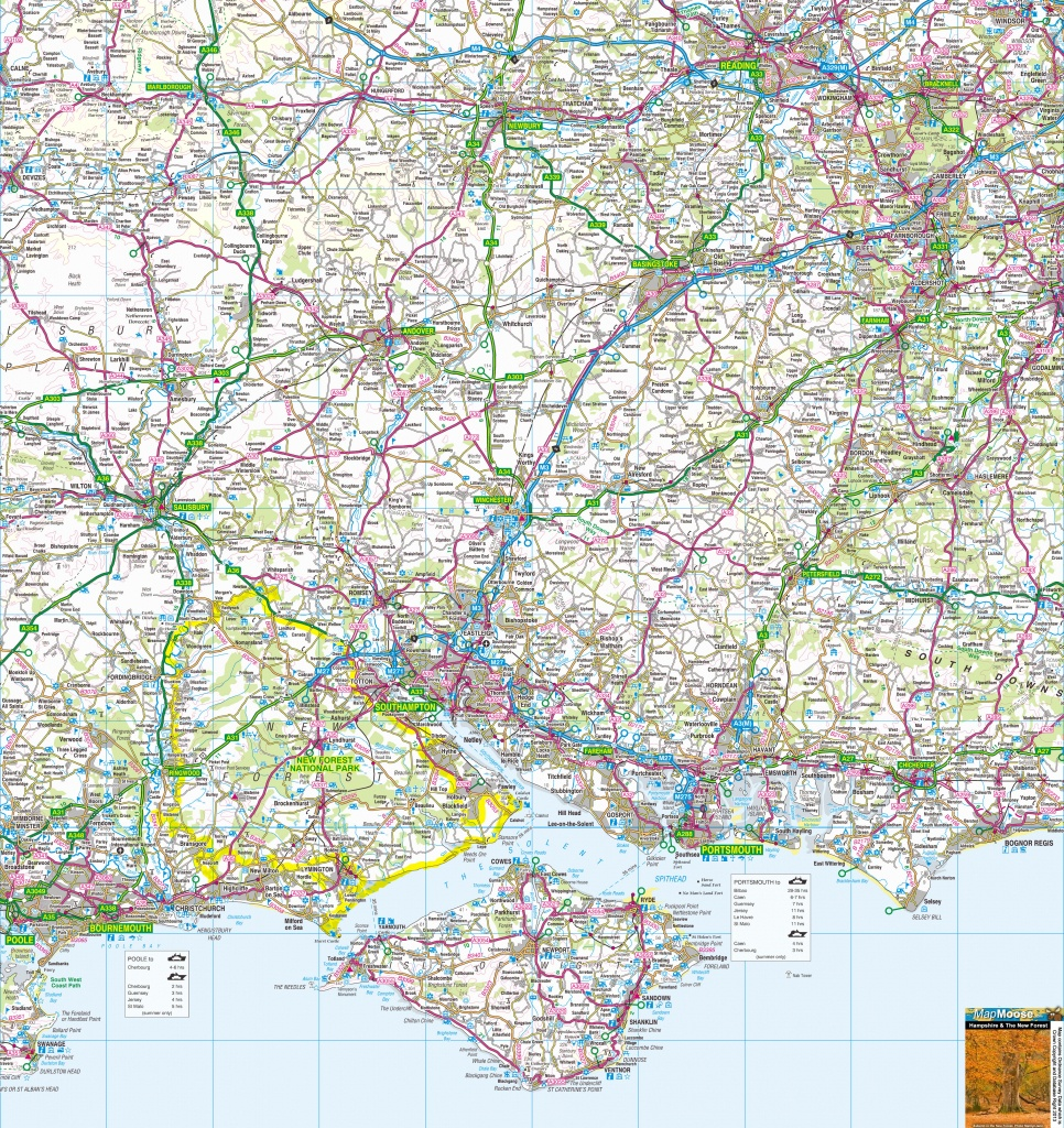Where Is The Isle Of Wight? Free Map, Including Cowes, Ryde, Newport - Printable Map Of Isle Of Wight