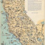 Whimsical Old Map Depicts California At A Time When 'hollywood Was A   Bears In California Map