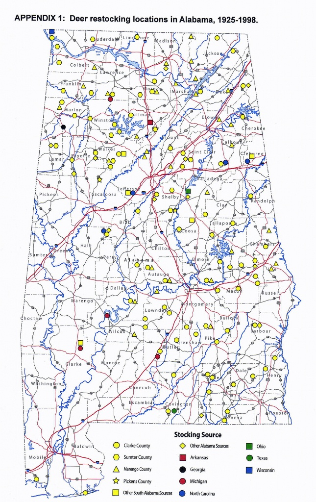 Whitetail Rutting Activity In Alabama Varies Widely | Outdoor Alabama - Deer Rut Map Texas