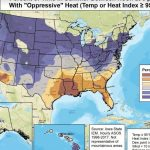 Who Has The Most Oppressive Weather?   Florida Humidity Map