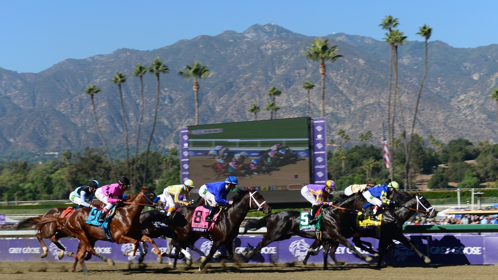 Why Have 21 Horses Died At A California Racetrack Since December? | Kpbs - Horse Race Tracks In California Map