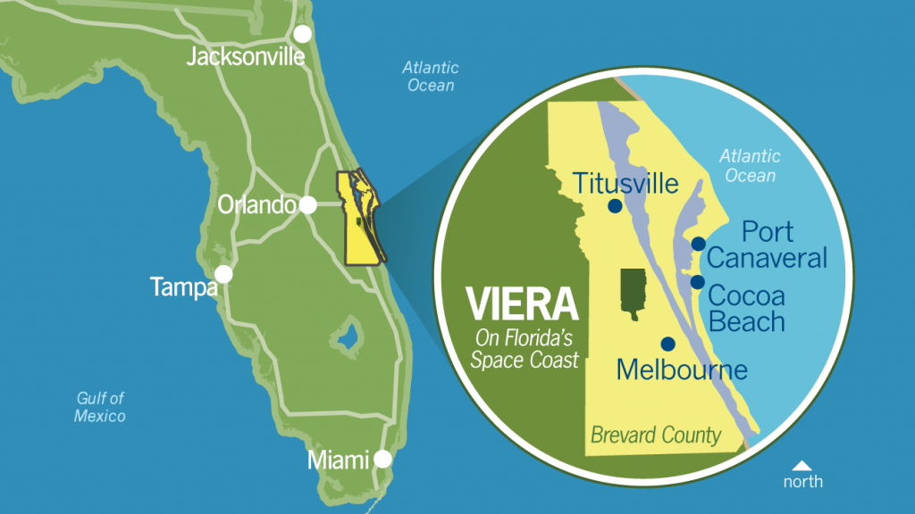 Why Viera - Business Relocation | Investment | Central Florida | Mpc - Florida High Tech Corridor Map