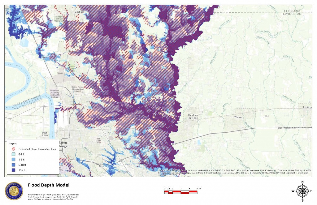 Why Was The Louisiana Flood Of August 2016 So Severe? – Lsu Law - Texas Flood Zone Map 2016