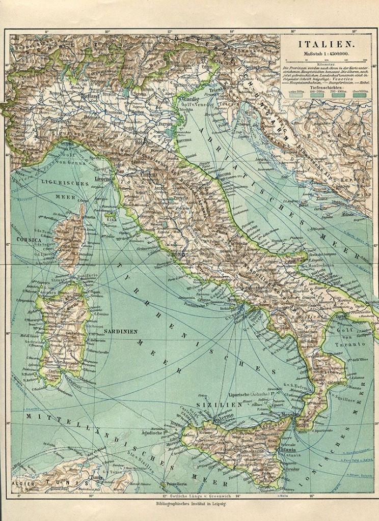 Wonderful Free Printable Vintage Maps To Download | Fonts - Free Printable Vintage Maps