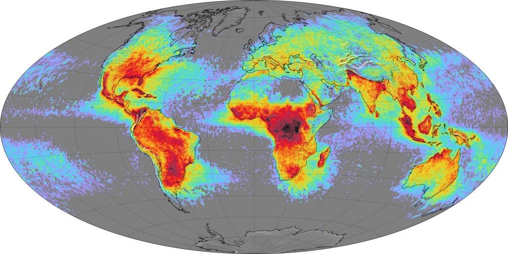 World Lightning Strikes Map - Lightning Map California
