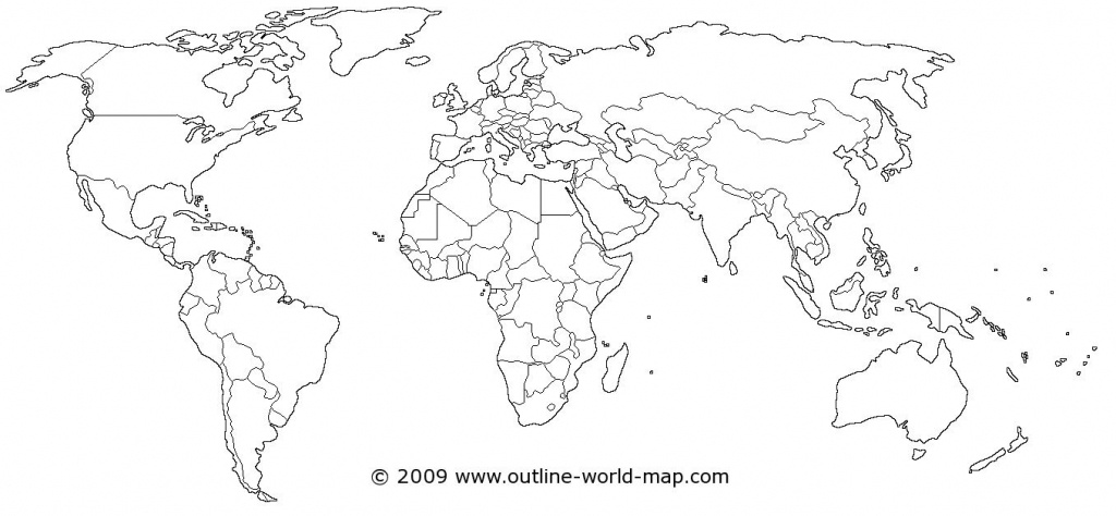 World Map | Dream House! | World Map Coloring Page, Blank World Map - Printable Map Of World Blank