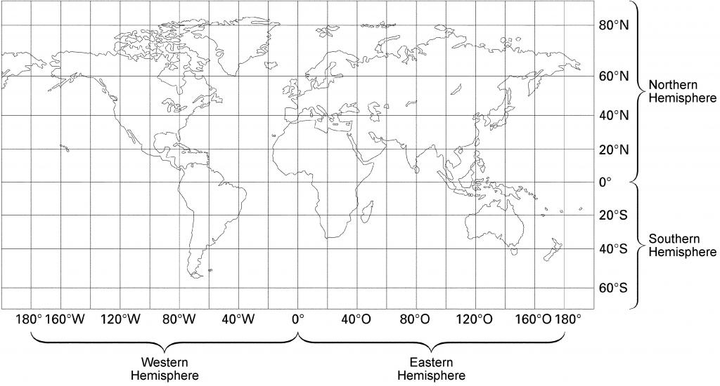 World Map With Latitude And Longitude Black And White | Metro Map - World Map Latitude Longitude Printable
