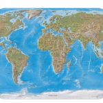 World Maps   Perry Castañeda Map Collection   Ut Library Online   Topographic World Map Printable