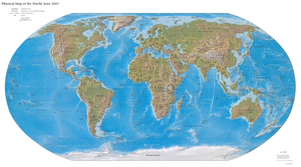 World Maps - Perry-Castañeda Map Collection - Ut Library Online - Topographic World Map Printable