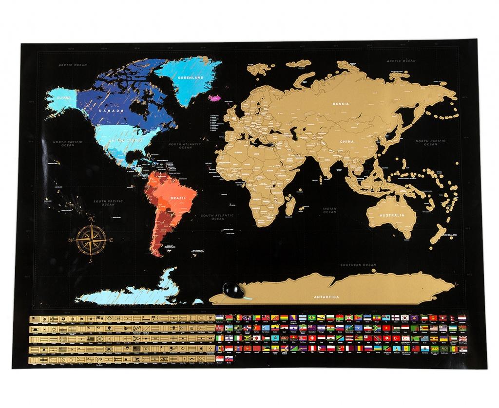 World Scratch Map - Black   Catch.au - Florida Scratch Off Map