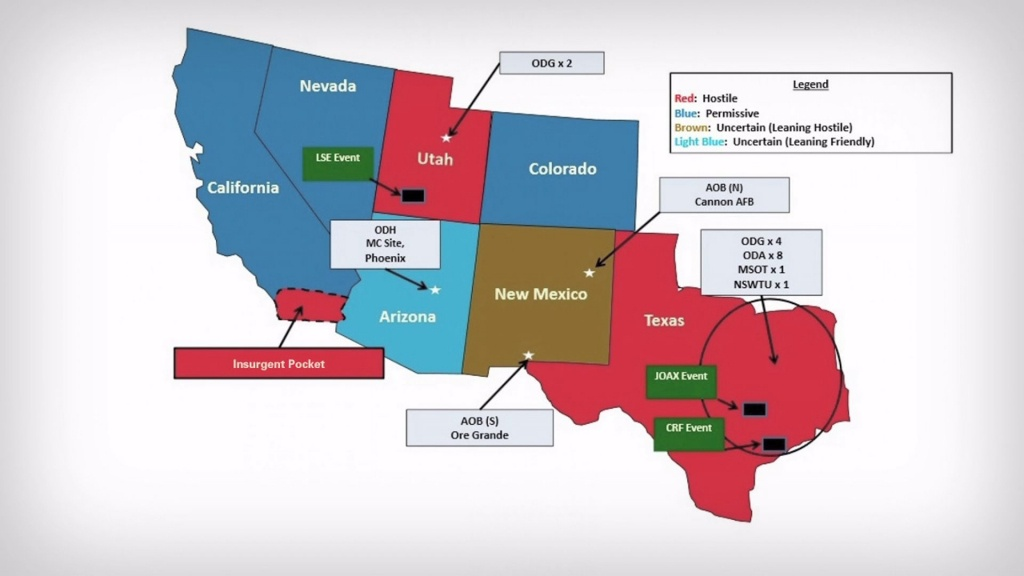 Would Texas And Other Gop Controlled Western States Be Alarmed Over - Yahoo Map Texas