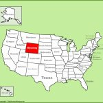 Wyoming State Maps   Usa   Maps Of Wyoming (Wy)   Printable Map Of Wyoming