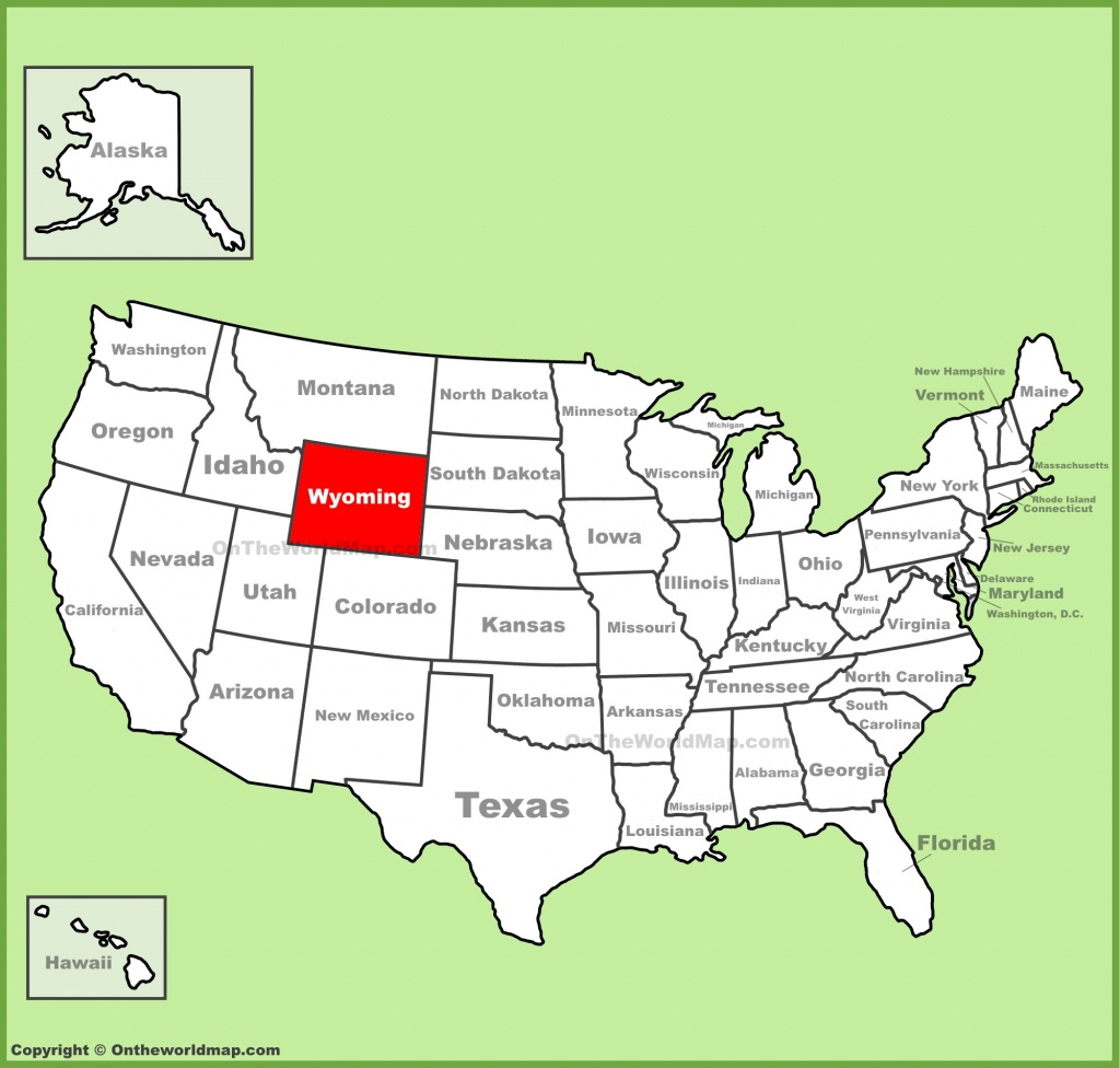Wyoming State Maps | Usa | Maps Of Wyoming (Wy) - Wyoming State Map Printable