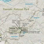 Yosemite National Park Overview Map   My Yosemite Park   Yosemite California Map