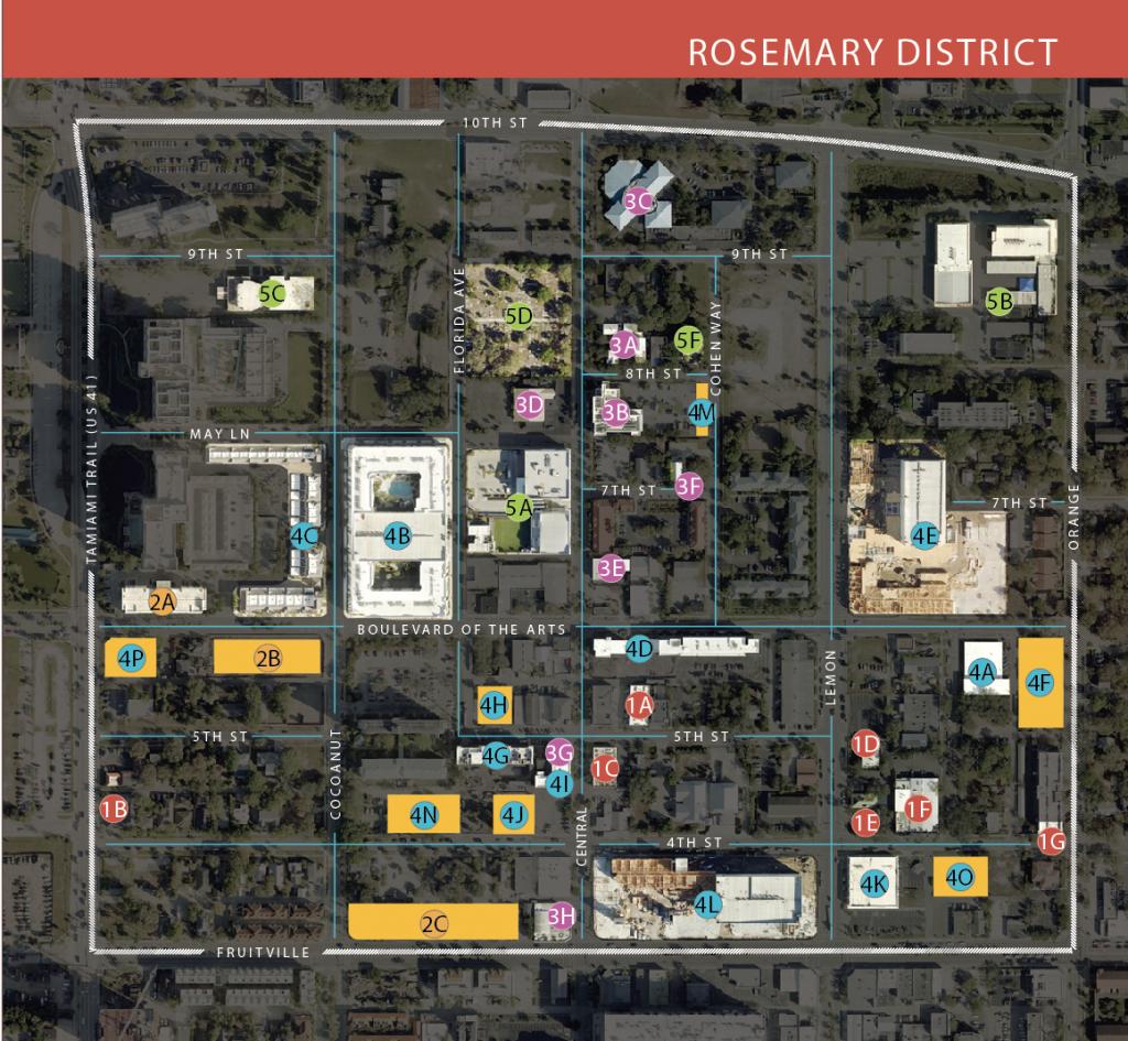 Your Guide To The Rosemary District | Sarasota Magazine - Map Of Sarasota Florida Neighborhoods
