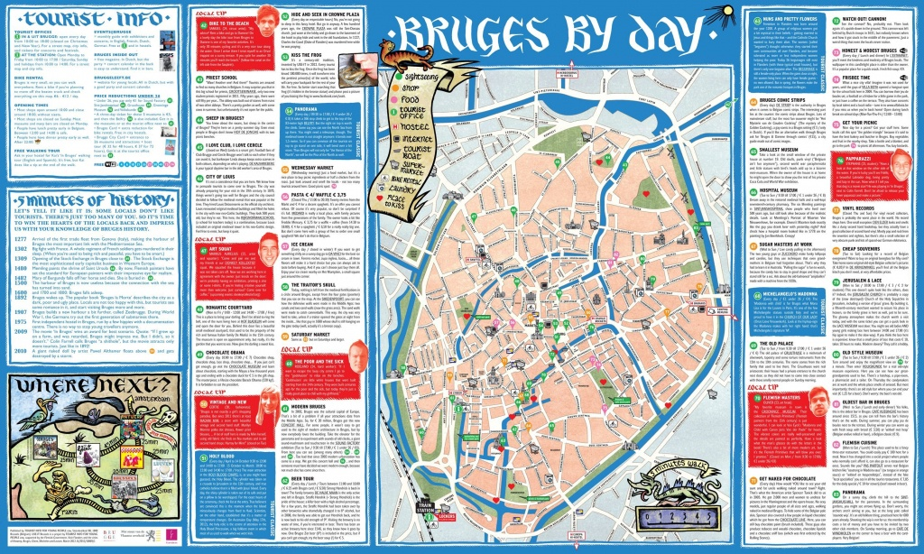 Zeebrugge Belgium Cruise Port Of Call - Bruges Map Printable