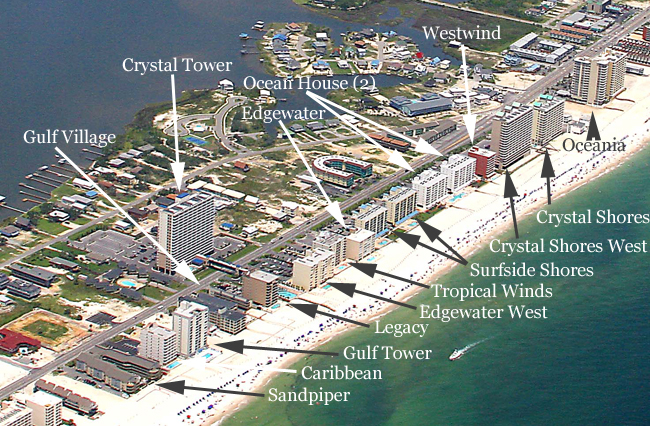 Gulf Shores Condos For Sale Aerial Image Search
