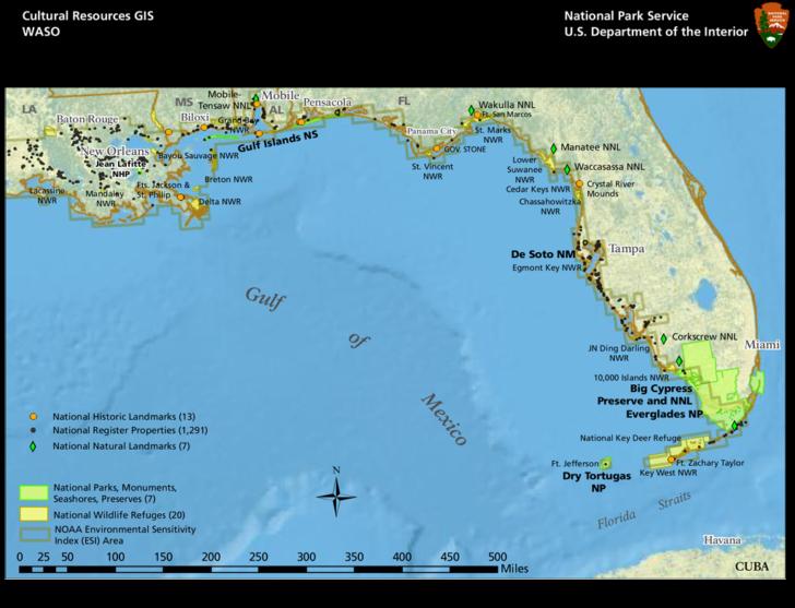 Alabama Gulf Coast Map