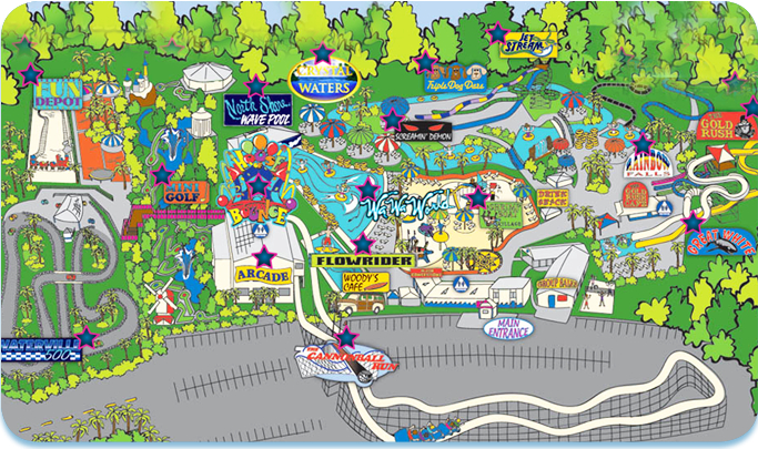 Waterpark Amusement Park Attractions Waterville USA