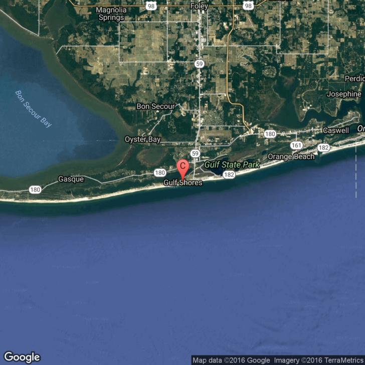 Gulf Shores Alabama Map Google